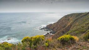Costa do oceano de Liptrap do cabo Fotografia de Stock Royalty Free