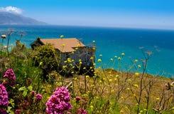Costa do Oceano Pac?fico, Big Sur, Calif?rnia Deamin foto de stock