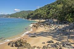 Costa do Oceano Pacífico em México Fotografia de Stock Royalty Free