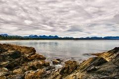 Costa do Pacífico foto de stock royalty free