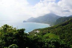 A Costa do Pacífico fotografia de stock royalty free