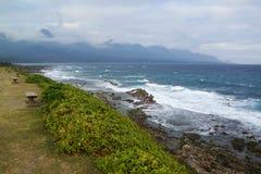 A Costa do Pacífico Foto de Stock