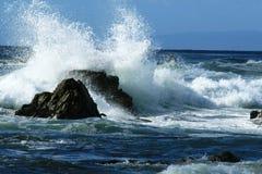 Costa do Pacífico foto de stock