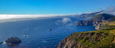 Costa do Pacífico, Califórnia Foto de Stock