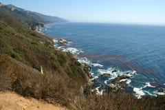 Costa do Pacífico da costa fotos de stock royalty free