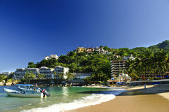 Costa do Pacífico de México Foto de Stock