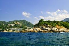 Costa do Pacífico de México Imagem de Stock Royalty Free