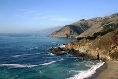 Costa do Pacífico, montes da estrada 101 Imagem de Stock Royalty Free