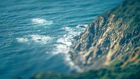 Costa do Pacífico ocidental dos EUA em Califórnia Fotografia de Stock