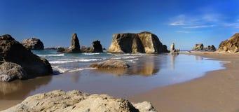 Costa do Pacífico Oregon, panorama Foto de Stock