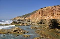 Costa do Point Loma Fotografia de Stock Royalty Free