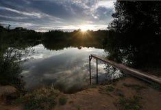 Costa do rio Imagens de Stock