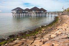 A costa do singaraja foto de stock