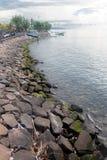 A costa do singaraja fotografia de stock
