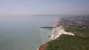 Costa do sudeste do leste de Seaford Sussex de Inglaterra Reino Unido vídeos de arquivo