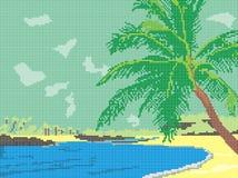 Costa do sul Imagem de Stock