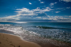 Costa Dorada beach Stock Image