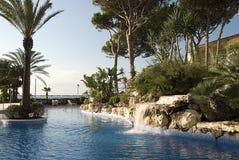 Costa Dorado Landschaft Spanien Lizenzfreies Stockfoto