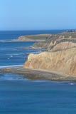 Costa dorata di California Fotografia Stock