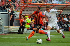 Costa Douglas forward of football club Shakhtar Royalty Free Stock Images