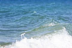 Costa e cielo Fotografie Stock Libere da Diritti