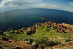Costa e mar de Sardigna Fotos de Stock Royalty Free
