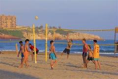 Costa e spiagge di Salou, Spagna fotografia stock libera da diritti