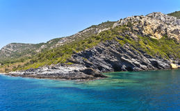 Costa egéia turca Foto de Stock Royalty Free