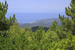Costa egea hermosa Imagenes de archivo