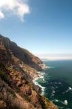 Costa em África do Sul fotos de stock