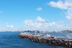 Costa en Alexandría fotos de archivo