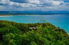 Costa en Byron Bay Fotografía de archivo