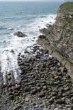 Costa costa en el condado kerry Imagen de archivo libre de regalías
