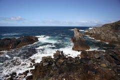 Costa en la isla de Achill Foto de archivo