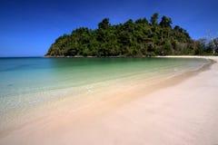 Costa en la isla del paraíso Imagen de archivo libre de regalías