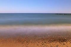Costa en la playa del mar Imagen de archivo