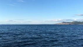 Costa en las islas de Cies almacen de metraje de vídeo