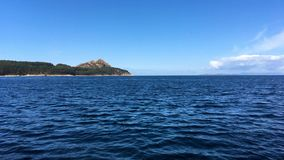 Costa en las islas de Cies metrajes