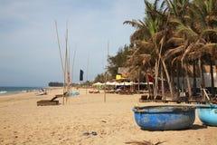 Costa en Phan Thiet Vietnam Fotografía de archivo