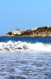 Costa en Puerto Escondido Imagenes de archivo