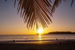 Costa en Costa Rica foto de archivo libre de regalías