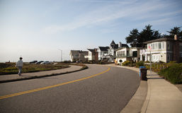 Costa en Santa Cruz, California Fotografía de archivo