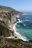 Costa escénica de California Imagen de archivo libre de regalías