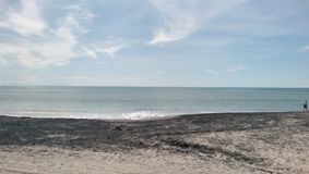 Costa Esmeralda beach Panama Royalty Free Stock Images