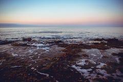 Costa costa española, mar Mediterráneo Foto de archivo