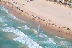 Costa espanhola, Alicante Imagens de Stock