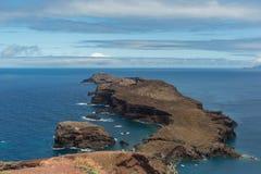 Costa Est dell'isola del Madera, Portogallo immagini stock libere da diritti