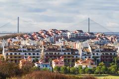 Costa Esuri Spain and the International Bridge Stock Photography