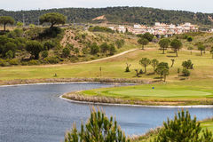Costa Esuri urban development. Royalty Free Stock Image