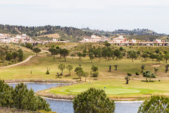 Costa Esuri urban development. Stock Photos